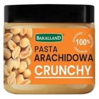 Pasta arachidowa crunchy Bakalland - 350g